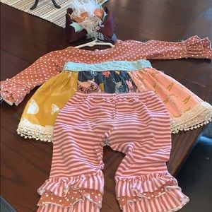 Complete boutique baby outfit
